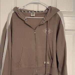 Pink crop top jacket